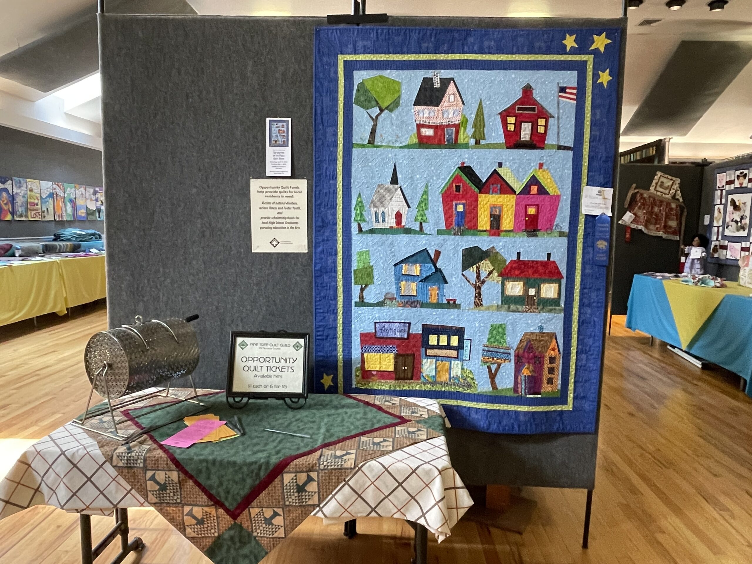 It Takes A Village - 2022 PTQG Opportunity Quilt